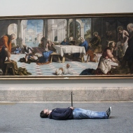 Jacopo Robusti Tintoretto - Die Fußwaschung